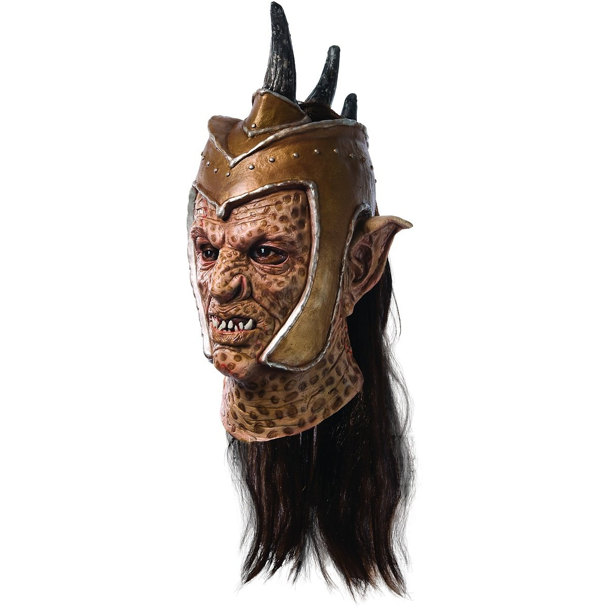 Zac Snyder's Sucker Punch Deluxe Orc Overhead Latex Mask, Standard Color, One Size