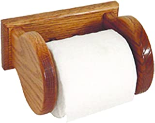 product image for Oak Wall Mounted Toilet Paper Holder - Amish Made in USA