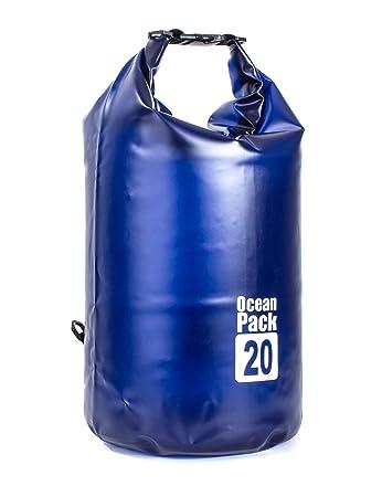 Amazon.com: BROVAVE Bolsa seca impermeable 10L, 20L ...