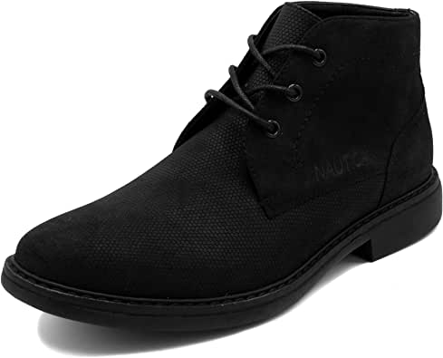 Nautica Men's Vega Chukka Boot Lace Up Ankle Shoe Oxfords Desert Boots