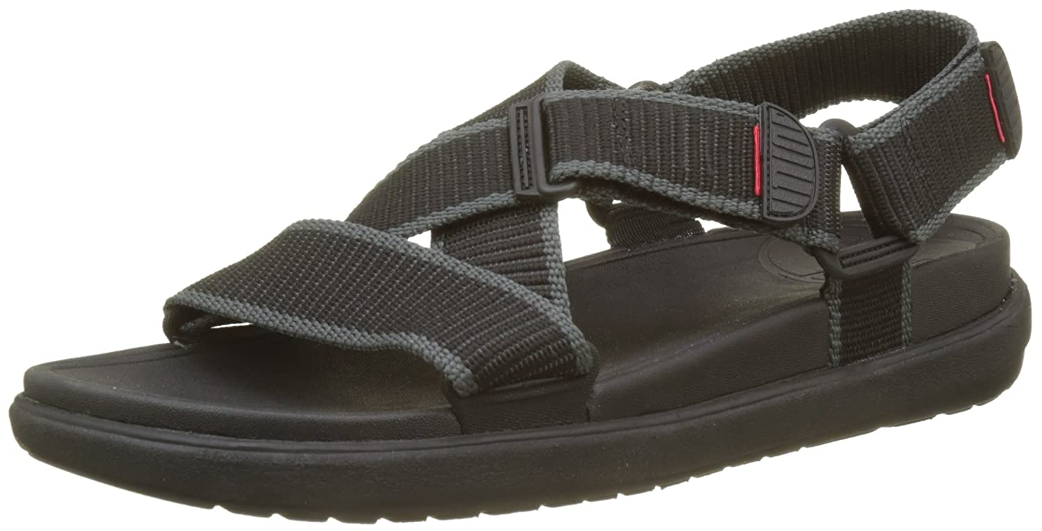 45c1568575da Fitflop Men s Sling Ii Back-Strap Sandals in Webbing Open Toe   Amazon.co.uk  Shoes   Bags