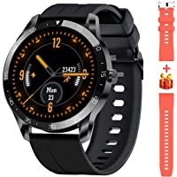 Blackview X1 Smartwatch,Reloj Inteligente Fitness Tracker Hombres Mujeres Niños Impermeable 5ATM Muñeca Pulsómetros…