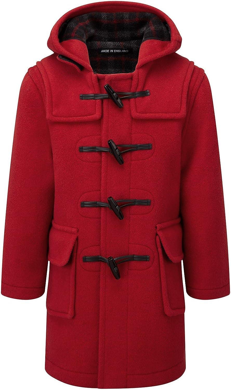 Montgomery Bambine e Ragazze Cappotto Rosso