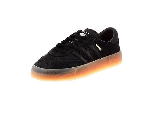 Adidas SAMBAROSE W, Zapatillas de Deporte para Mujer, Blanco (Ftwbla/Negbás/