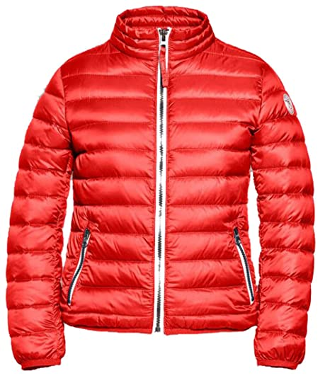 Reset Budapest Daunenjacke Kinder Jungen Light Down Jacket rot red Gr. 116 128 140 152 164