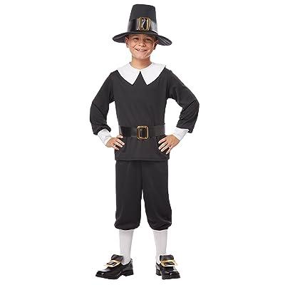 California Costumes Pilgrim Boy Child Costume, Large: Toys & Games