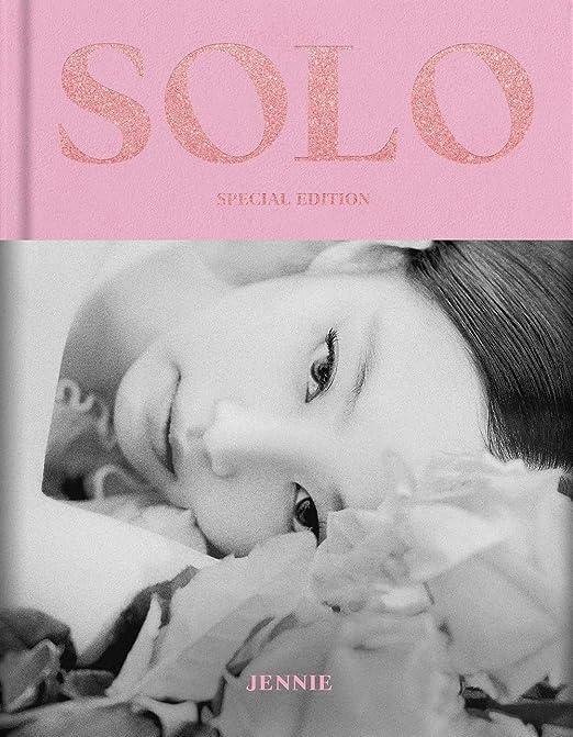 JENNIE - [SOLO] PHOTOBOOK (Special Edition)+Extra Photocards Set