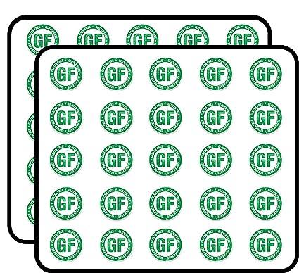 Amazon com: Gluten Free Sticker for Scrapbooking, Calendars