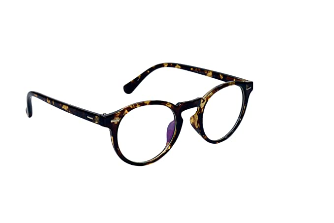 c5177c921 Peter Jones Full Rim Round Unisex Spectacle Frame-(DT3|46|Brown Frame