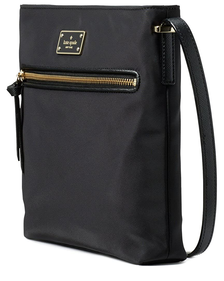 bce842a96343f Amazon.com  Kate Spade New York Wilson Road Dessi Crossbody Purse (Black)   Shoes