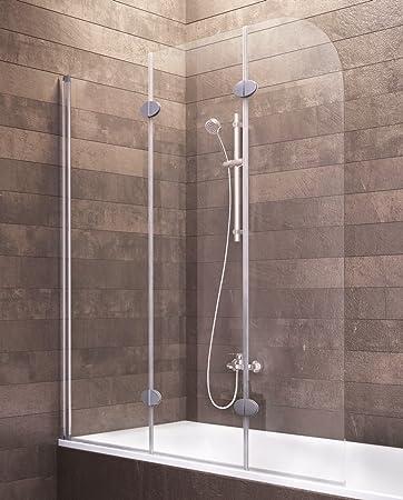 Mampara de bañera, Gris, 4056397001201: Amazon.es: Bricolaje y ...