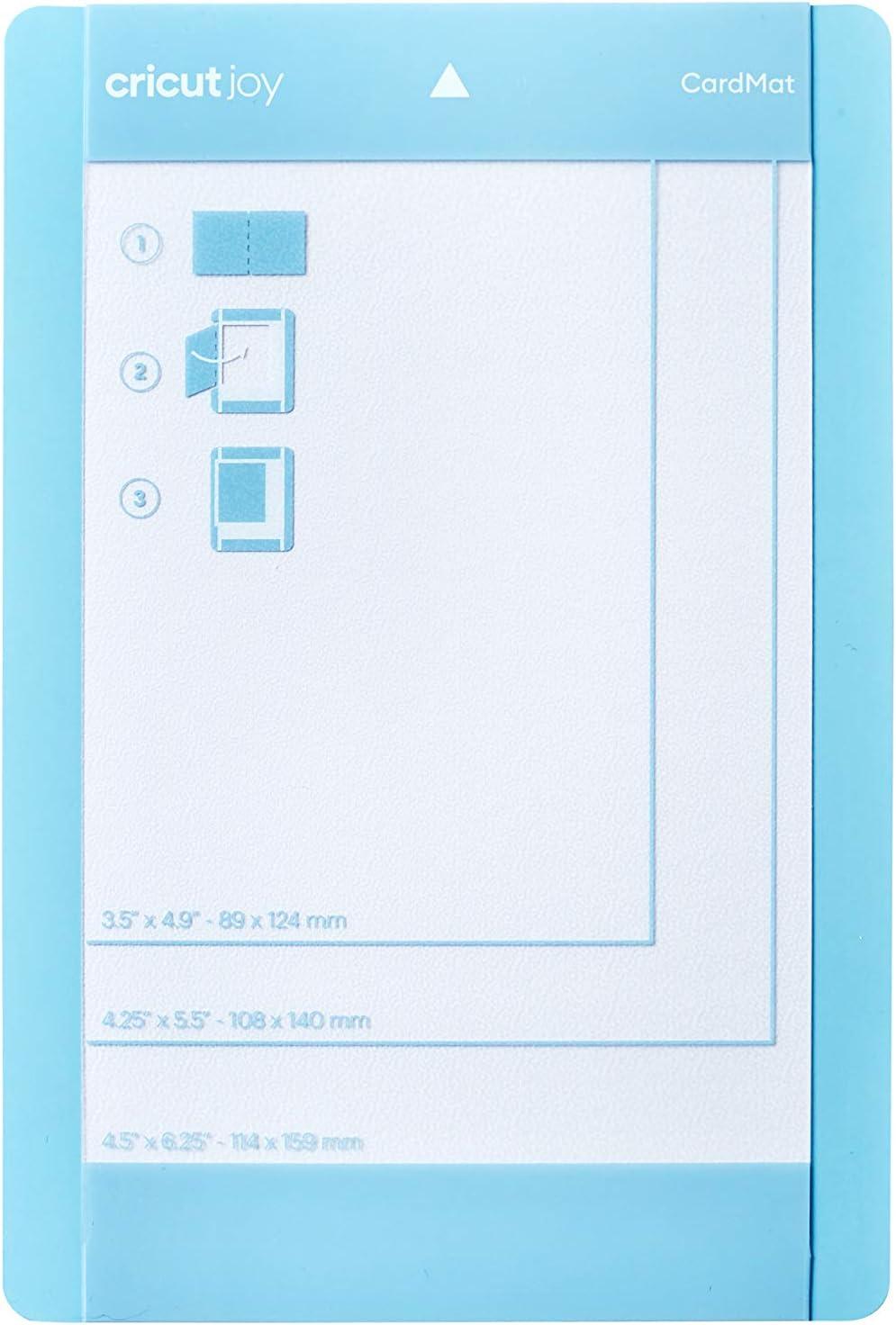 for 4,5 x 6,25 Blue Cricut 2007968 Joy Schneidematte 11,4 cm x 15,8 cm