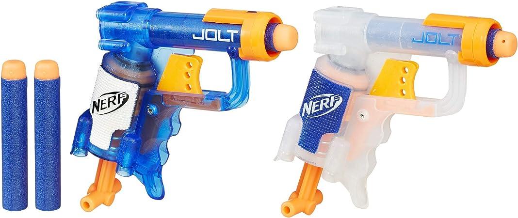 Hasbro B5817 Nerf N-Strike Jolt - Pack de 2 Pistolas de Juguete ...