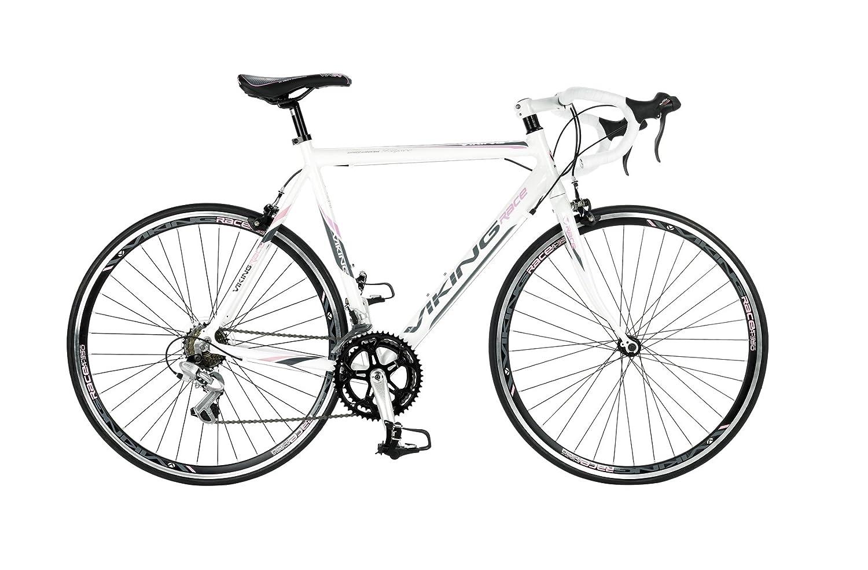 Viking Elysee Ladies Road Race Bike 14 Speed 700c Wheels New: Amazon ...