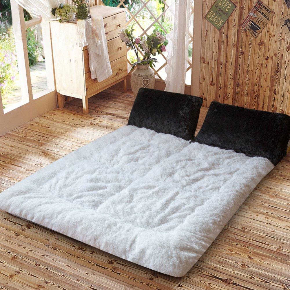 Thick warm tatami mattress in winter student dormitory bed mat ground floor sleeping pad-F 120x200cm(47x79inch)