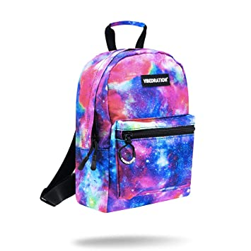 72f47e893bb Vibedration Mini Backpack   Casual Lightweight Daypack Purse for Women,  Girls, Boys, Men