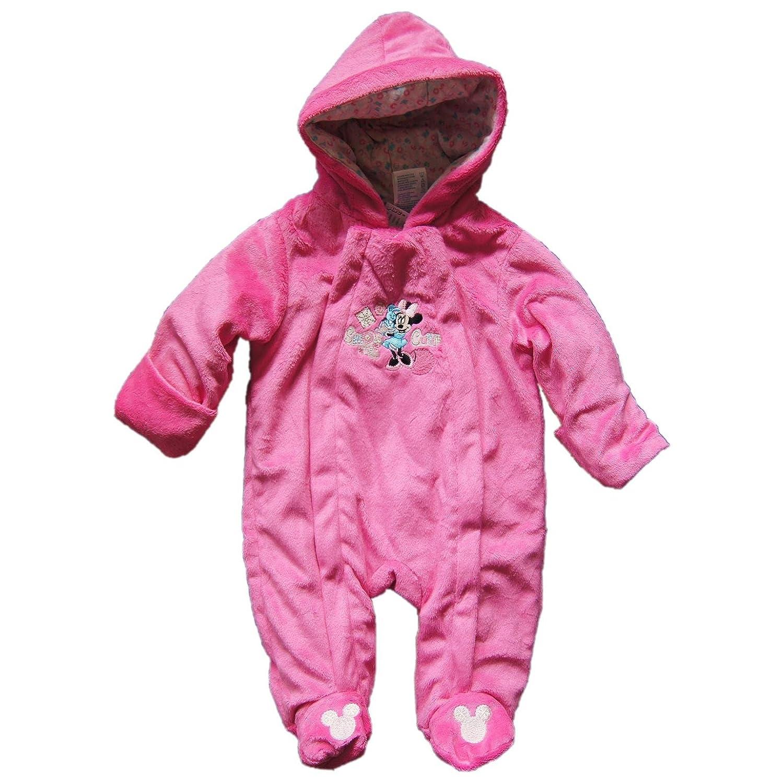 Baby Peluche Mono carro Traje Minnie Mouse rosa 68: Amazon ...