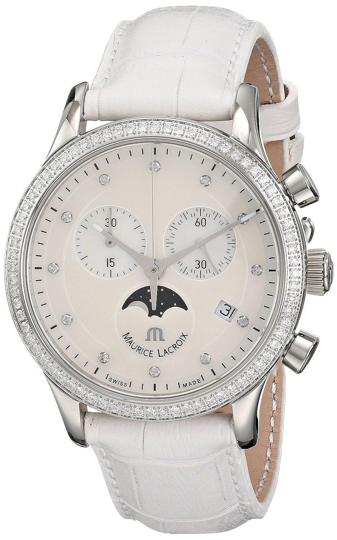 [モーリス ラクロア]Maurice Lacroix 腕時計 Les Classiques Analog Display Analog Quartz White Watch LC1087-SD501-160 レディース [並行輸入品] B015NKBU2S