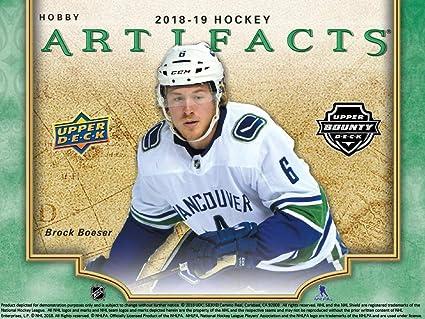 2018-19 Upper Deck Artifacts Hockey Hobby Box