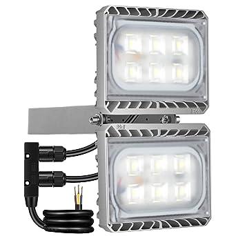 GOSUN® Foco proyector LED 60W para exteriores, CREE SMD5050 ...