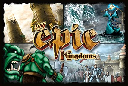 Tiny Epic Kingdoms Board Game by Gamelyn Games: Amazon.es ...