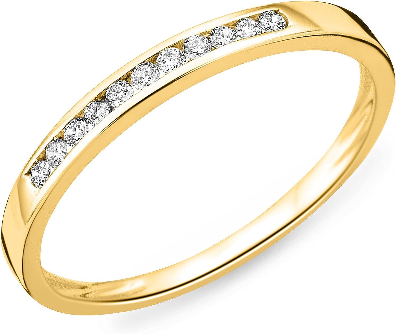 Miore Anillo de mujer con oro amarillo 9k, diamantes
