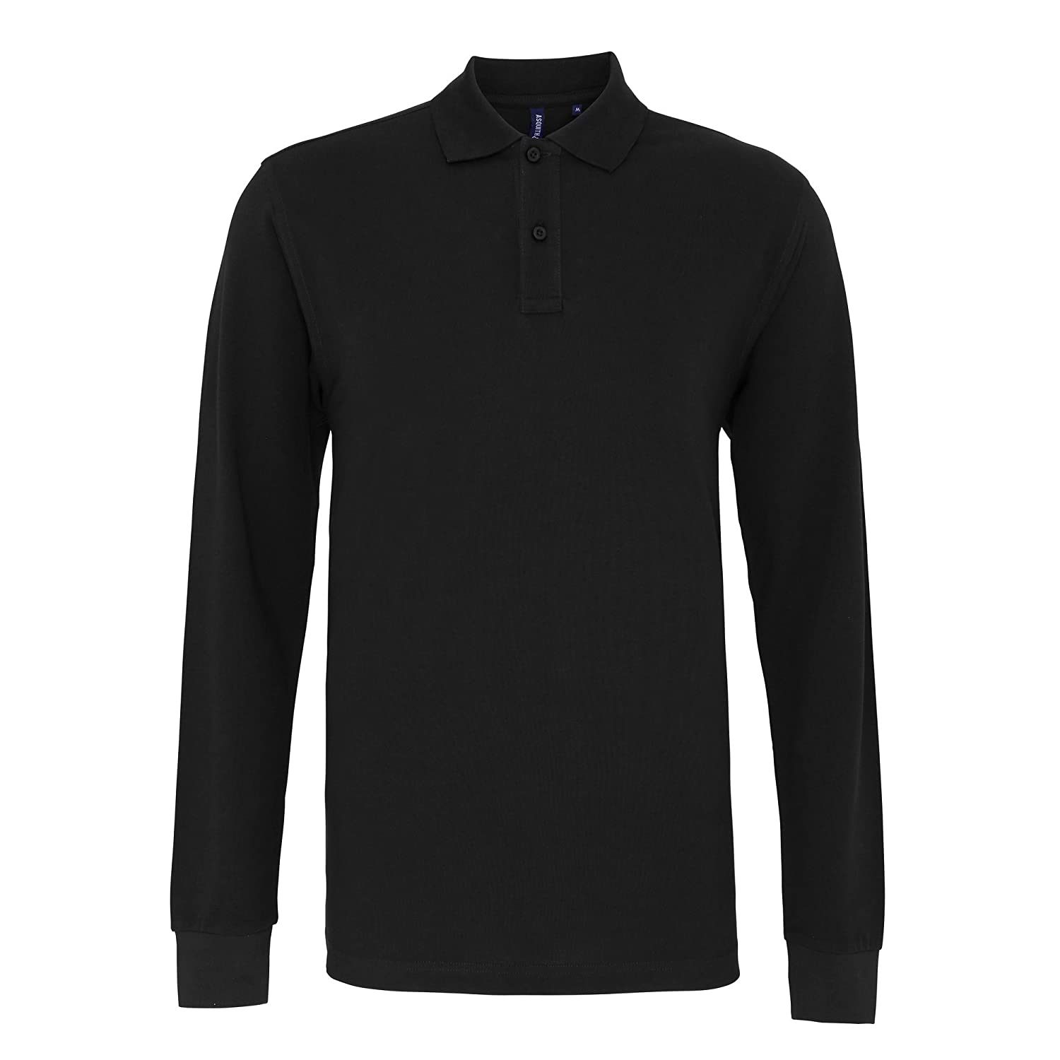 Asquith & Fox Mens Classic Fit Long Sleeved Polo Hombre: Amazon ...