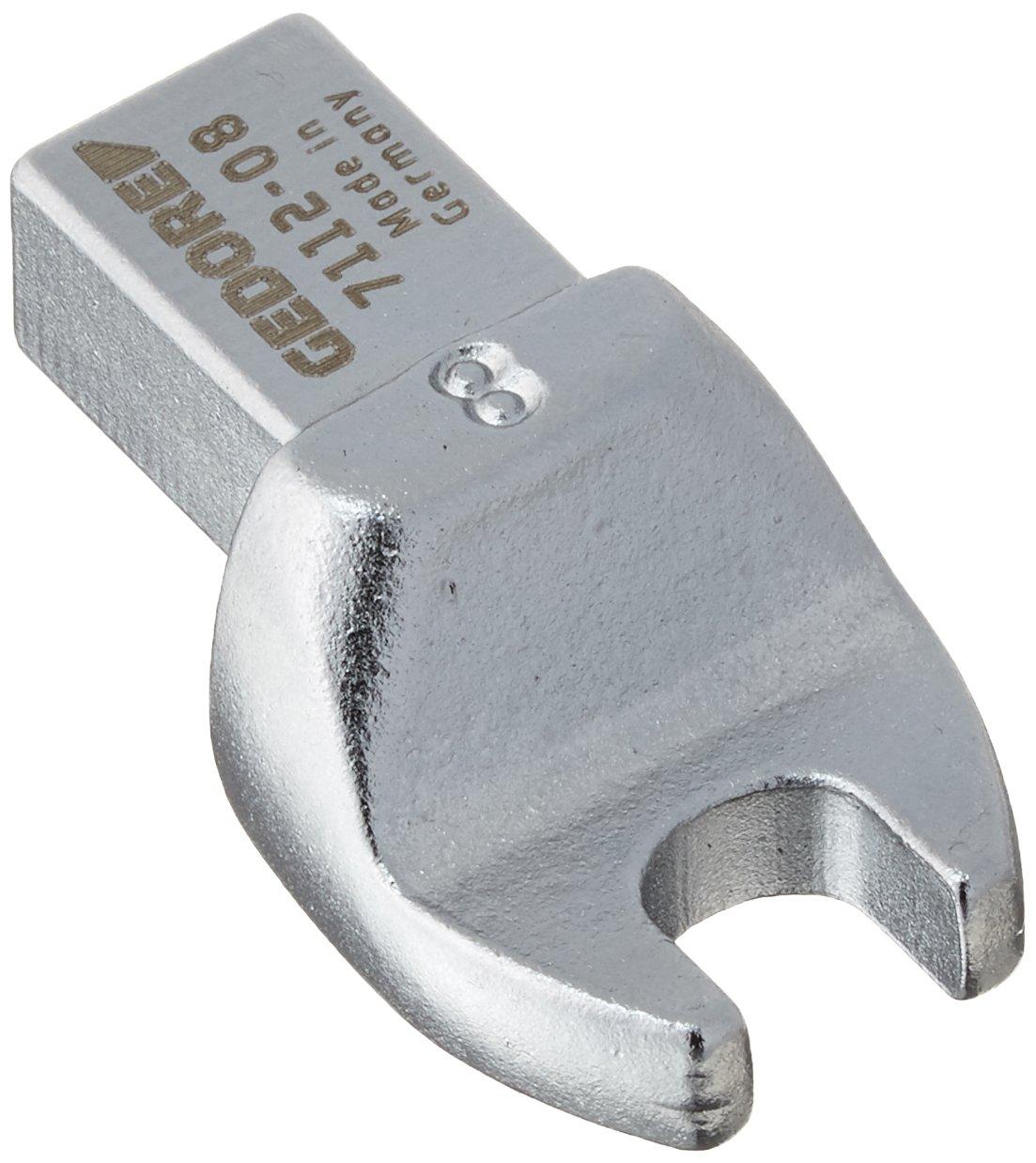 Gedore 7118-18 Cabeza de llave de boca abierta SE 14x18 18 mm