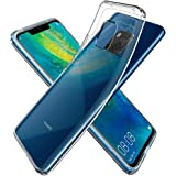 Spigen [Liquid Crystal] Case for Huawei Mate 20 PRO, Flexible TPU Transparent Slim Protection Phone Cover for Huawei Mate 20 Pro Case - Crystal Clear - L34CS25542