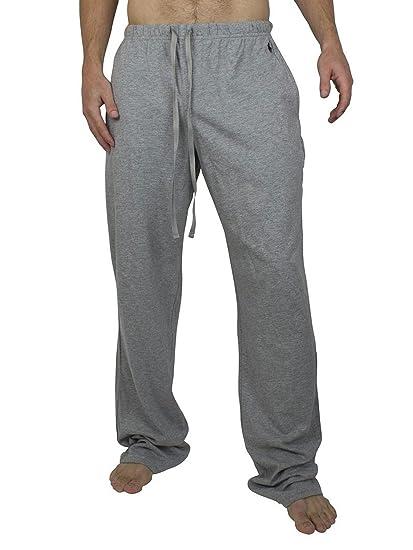 f39379b322de1 Ralph Lauren Polo Men's PJ Pant Pyjama Bottoms, Grau (Heather Grey 003),