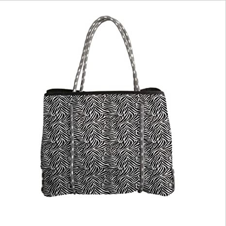 4aeb7e095a0b Amazon.com  Neoprene Multipurpose Beach Bag Tote Bags
