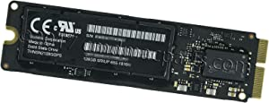 """Odyson - 128GB SSD Replacement for MacBook Pro 13"""" Retina A1502, 15"""" A1398 (Late 2013, Mid 2014)"""