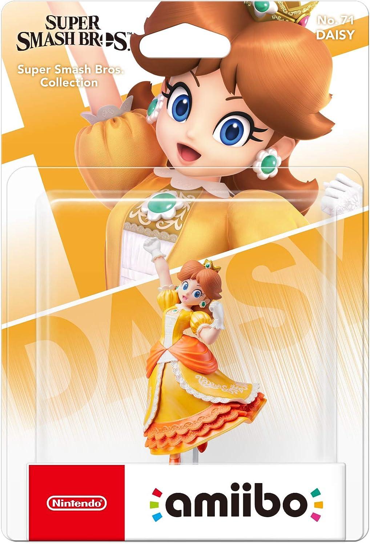 Nintendo - Amiibo Daisy, Colecciónn Super Smash Bros Modelo antiguo: Amazon.es: Videojuegos