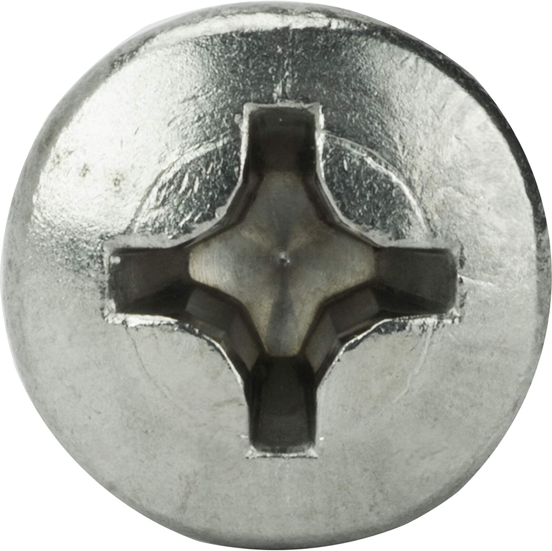 #14 x 1-3//4 Self Tapping Sheet Metal Screws Oval Head Stainless Steel 100 Pcs self Tapping Metal Screws self Tapping Screws for Metal
