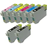 IC6CL50 6色セット+BK2個 8個セット EPSON(エプソン)対応高品質互換インクカートリッジ ICチップ付残量表示機能対応(JAN:4571498426338 )