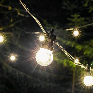 Outdoor Festive Lights Outdoor festoons rubber cable extendable warm white leds 5m outdoor festoons rubber cable extendable warm white leds 5m clear bulbs workwithnaturefo