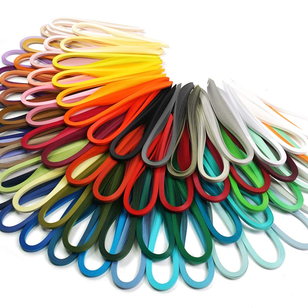 0.06 in. Paper Width 1.5mm JUYA Paper Quilling Set by Tant 72 Colors and 72 Packs
