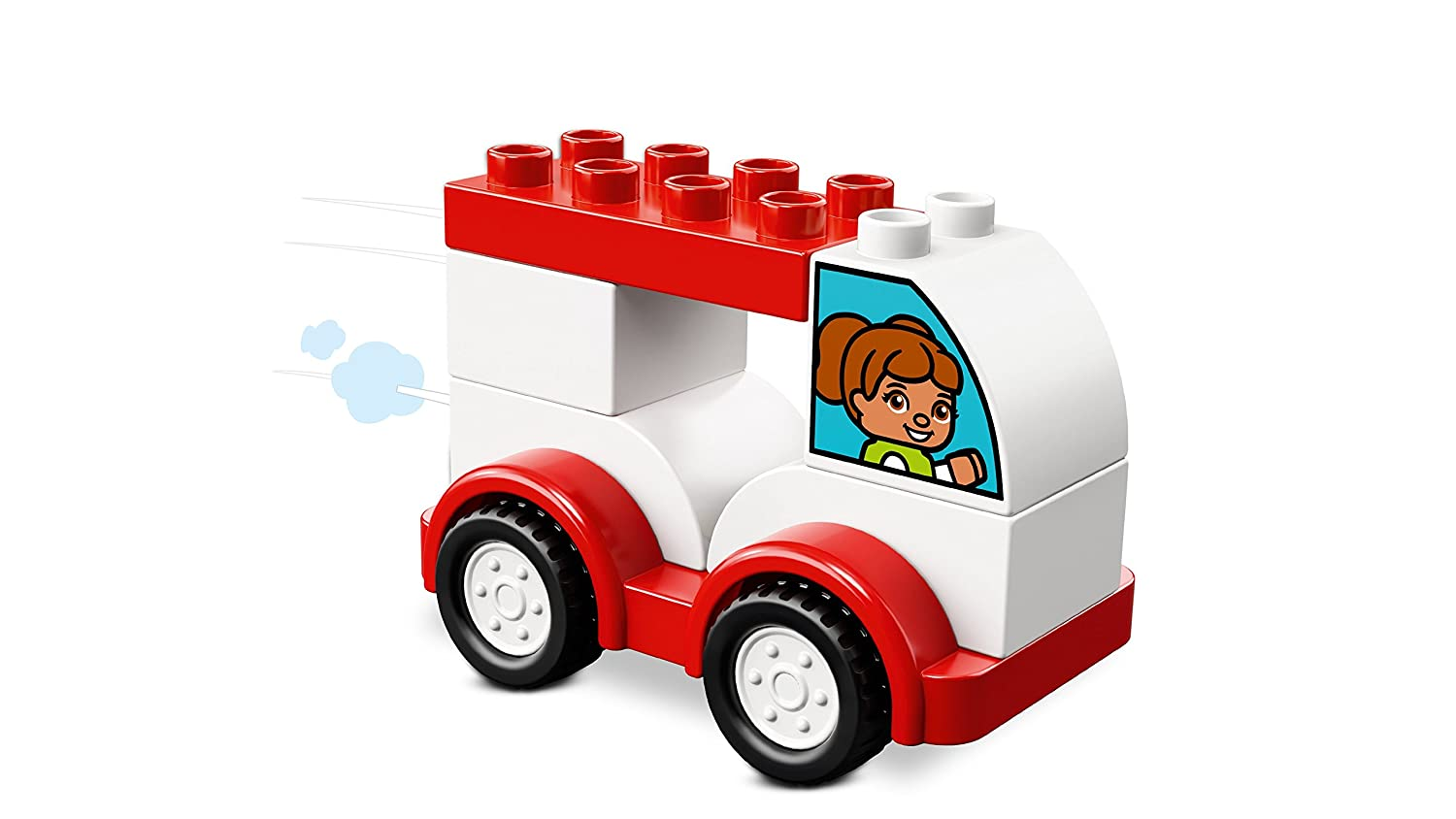 LEGO 10860 Duplo My First Race Car: Amazon.co.uk: Toys & Games