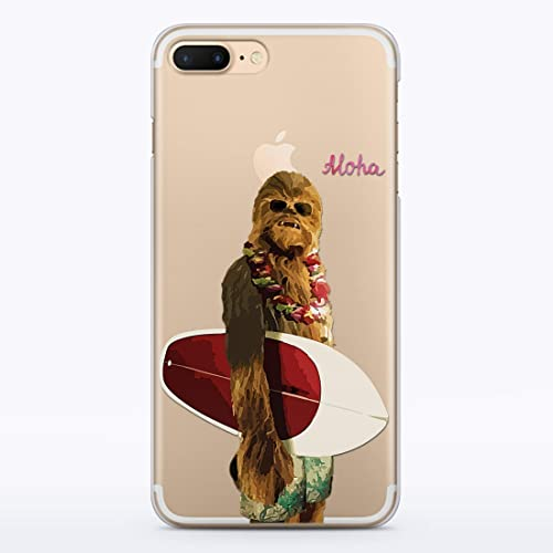 new products 81e38 9d974 Amazon.com: Chewbacca Surfing Cell i Phone Case iPhone 10 X XS Max ...