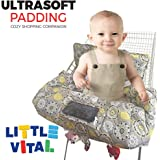 Shopping Cart Cover for Baby or Toddler | 3-in-1 High Chair Cover