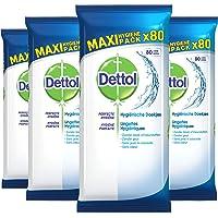 Dettol Hygiënische Maxi Pack 4 x 80 Doekjes Grootverpakking