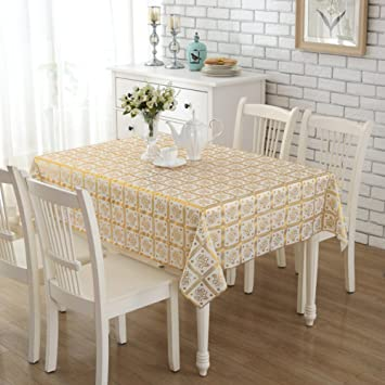 Pvc Plastic Tablecloths/Disposable Square Table Cloth/ European Style  Table Cloth/