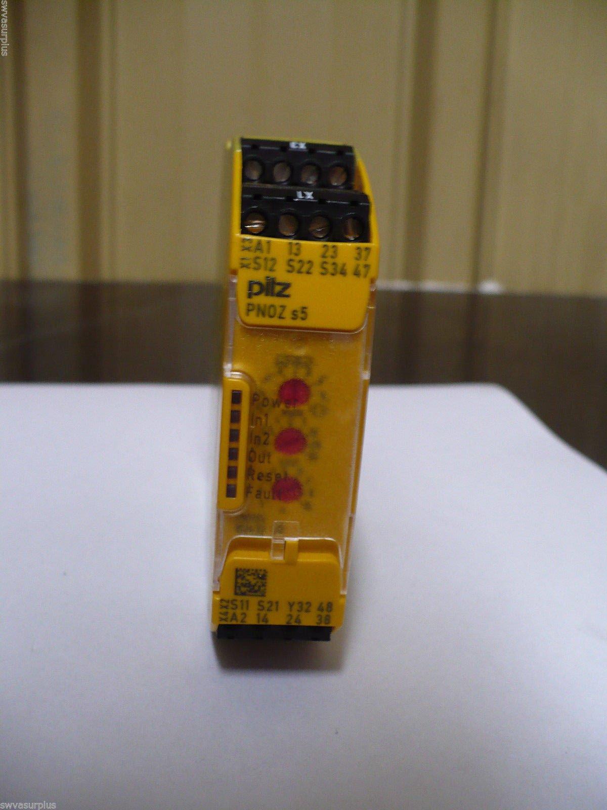 Pilz Pnoz s5 Safety Relay, 750135, 48-240V Ac/Dc,