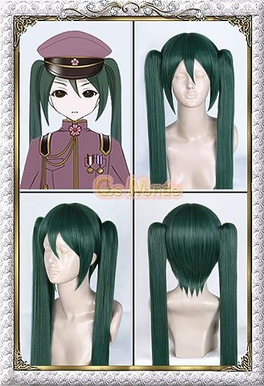 Amazon.com: Vocaloid: Senbonzakura – Hatsune Miku peluca + ...