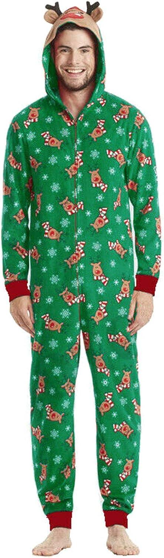 shadiao Family Matching Jumpsuits Sleepwear Deer Christmas ...
