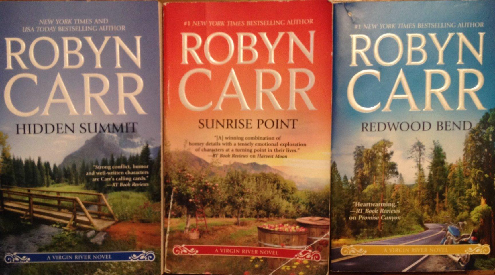Robyn Carr's Virgin River Series (Hidden Summit, Redwood Bend, Sunrise Point):  Robyn Carr: Amazon.com: Books