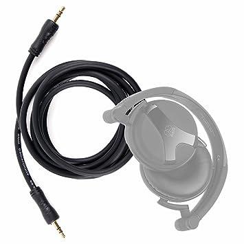 DURAGADGET Cable De Audio Para Auriculares AKG K518 / ALZN A-5 Active Noise Cancelling