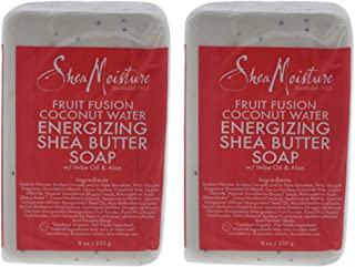 product image for Organic Shea Moisture Fruit Fusion Energizing Shea Butter Soap 8 Oz. - Set of 2