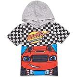 Nickelodeon Boys Blaze Hooded Costume Shirt Blaze and The Monster Machines Costume Tee