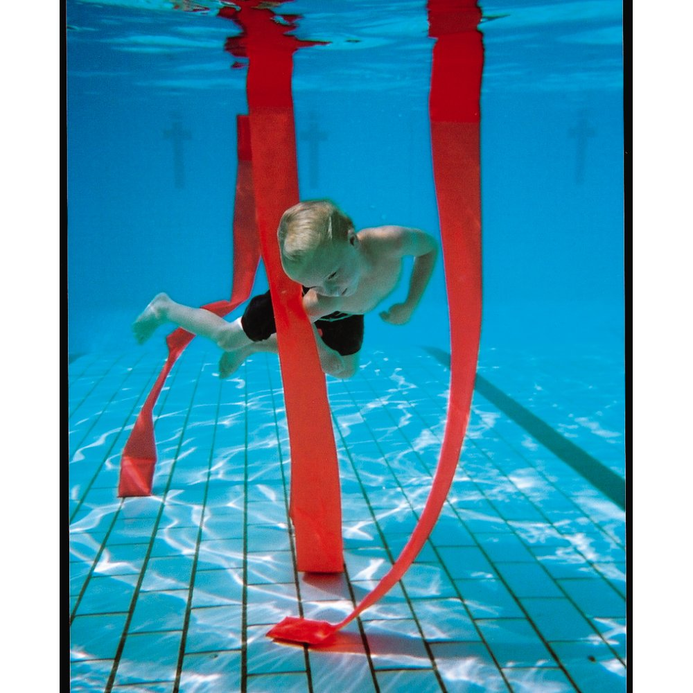 Underwater Swimming Pool Diving Game Practice Slalom Strips Set of 4 Assorted by Sportsgear US